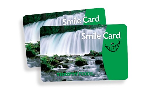 Thrify Foods Smile Cards